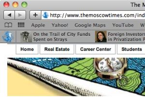 The Moscow Times Safari Extension